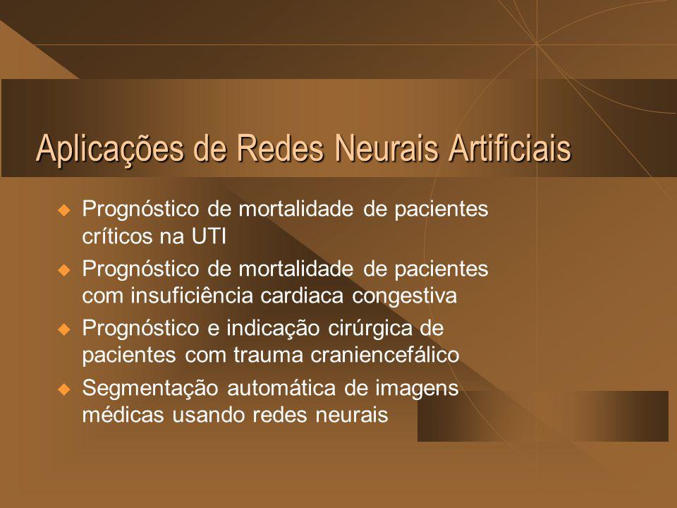 Aplicações de Redes Neurais Artificiais