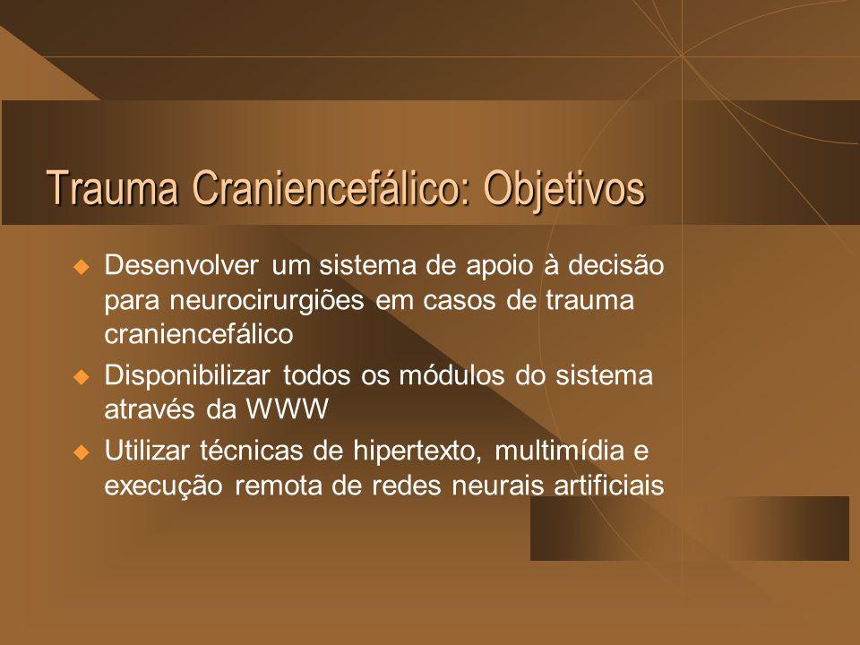 Trauma Craniencefálico: Objetivos