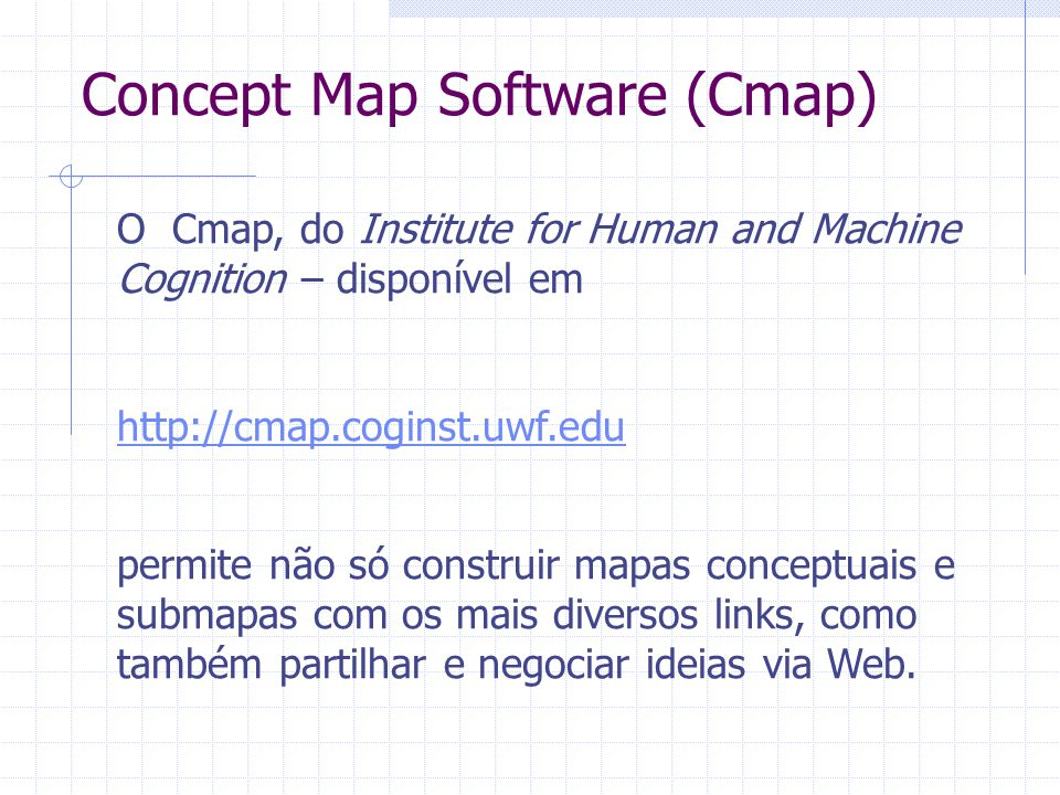 Concept Map Software (Cmap)