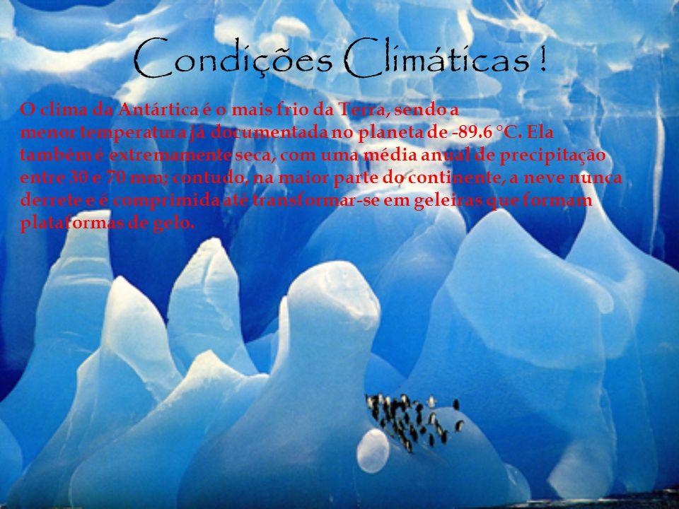 Condições Climáticas !