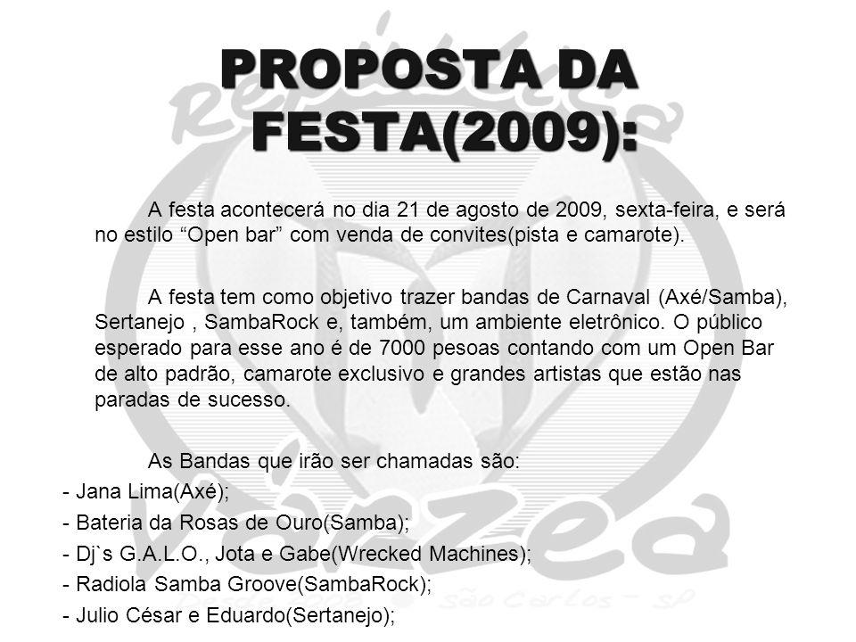 PROPOSTA DA FESTA(2009):