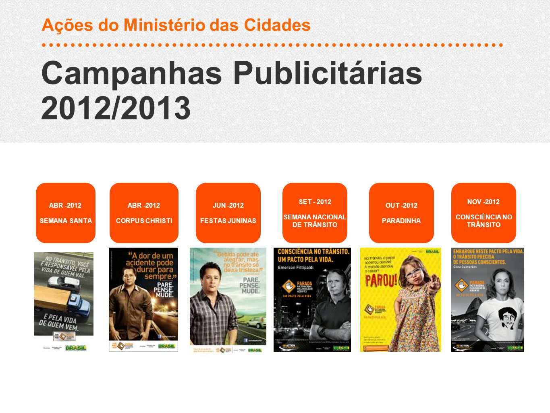 Campanhas Publicitárias 2012/2013