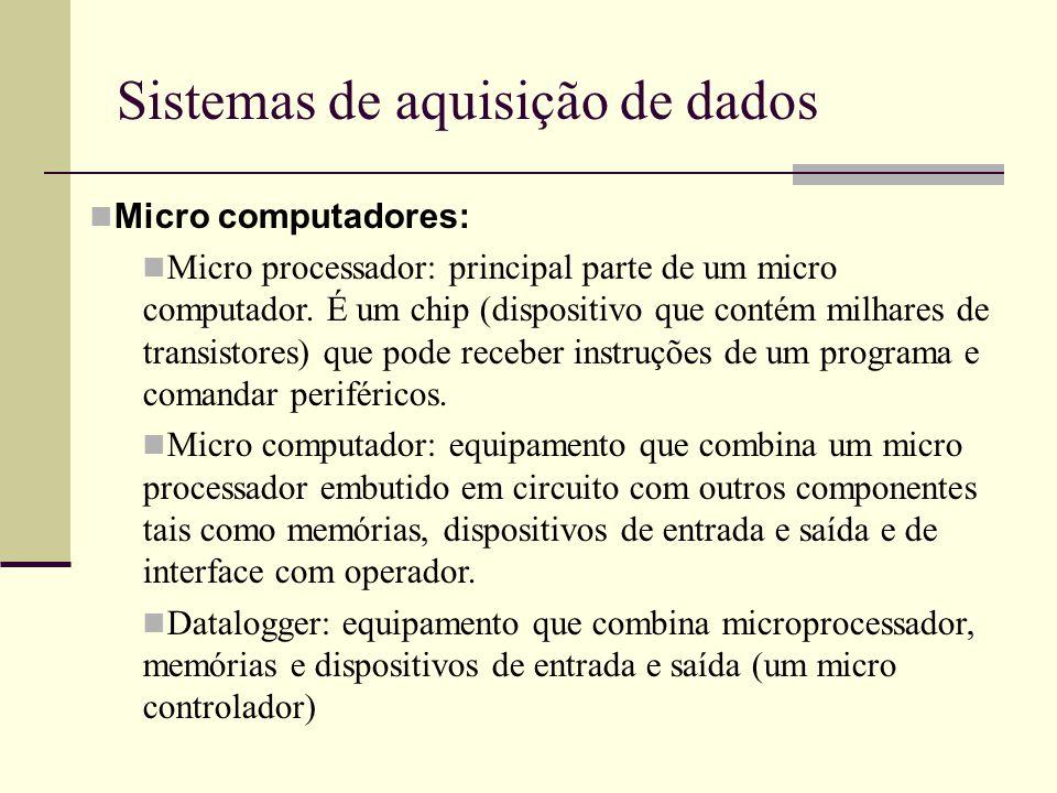 Sistemas de aquisição de dados