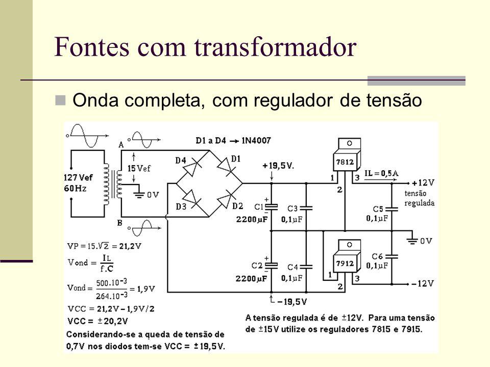 Fontes com transformador
