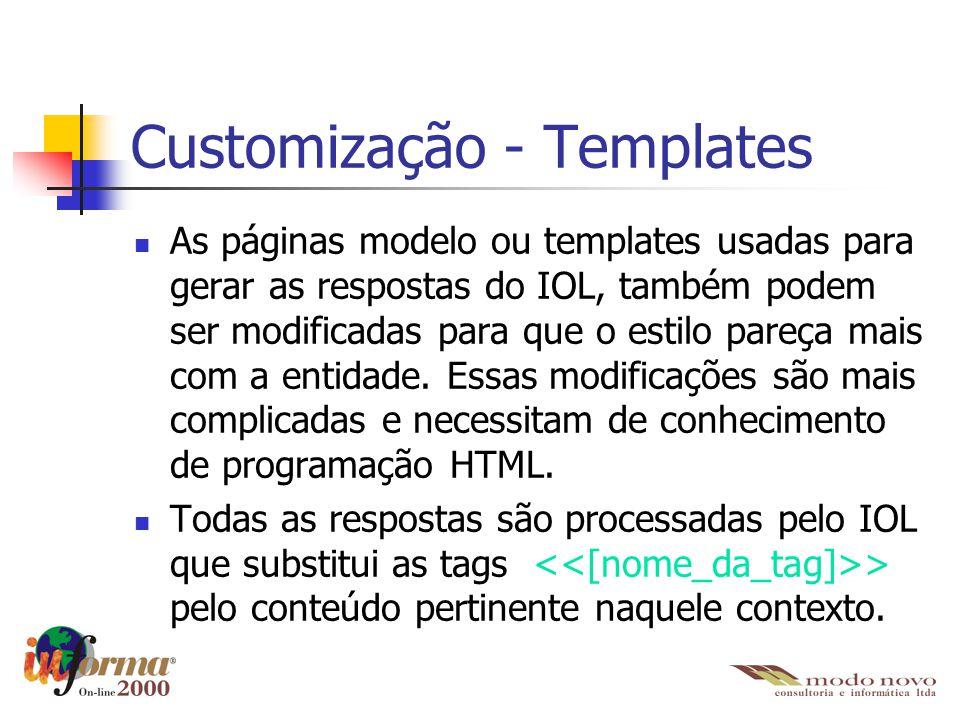 Customização - Templates