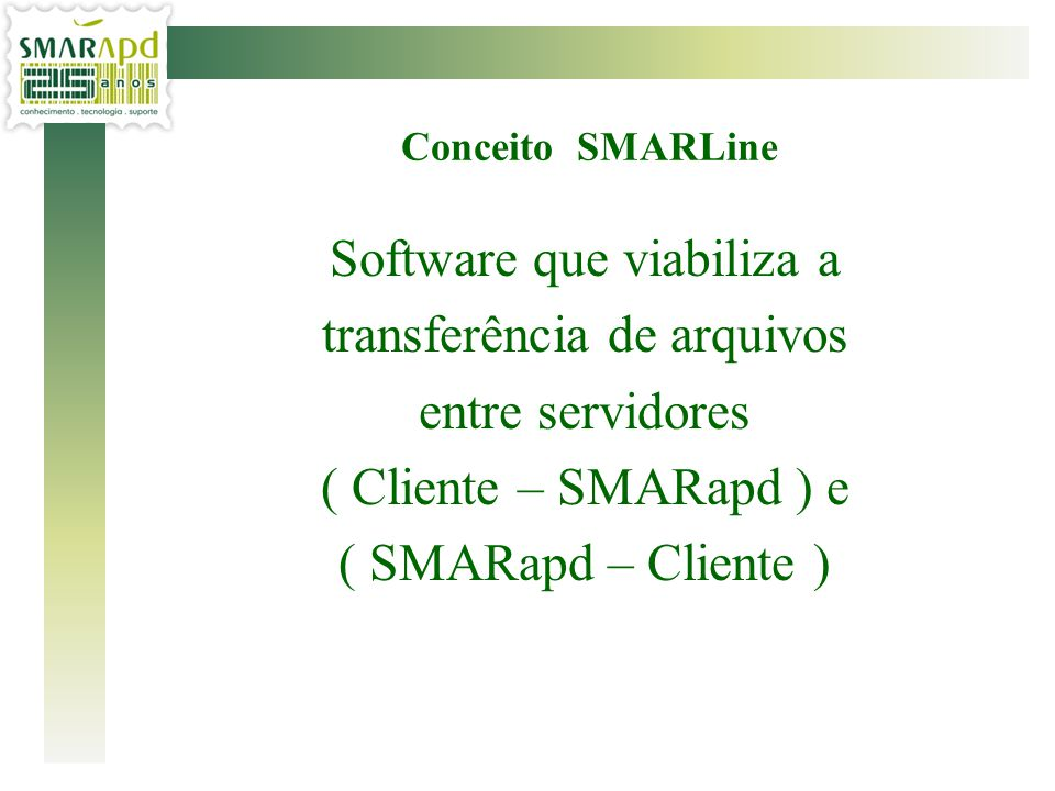 Software que viabiliza a transferência de arquivos entre servidores