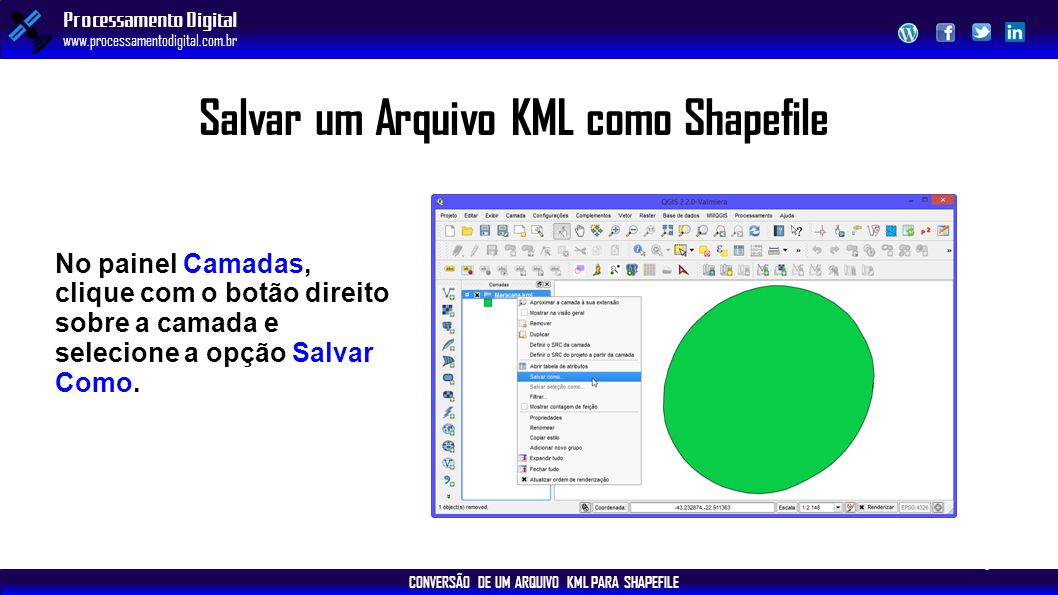 Salvar um Arquivo KML como Shapefile