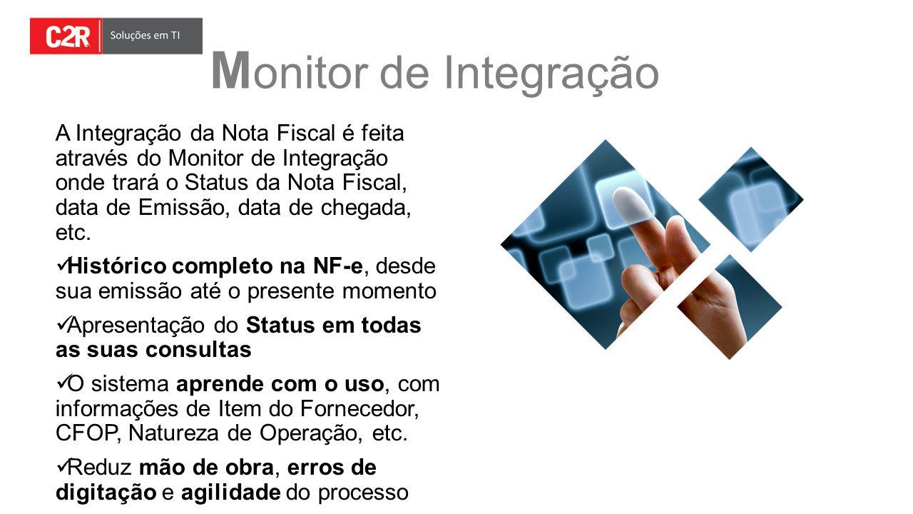 Monitor de Integração