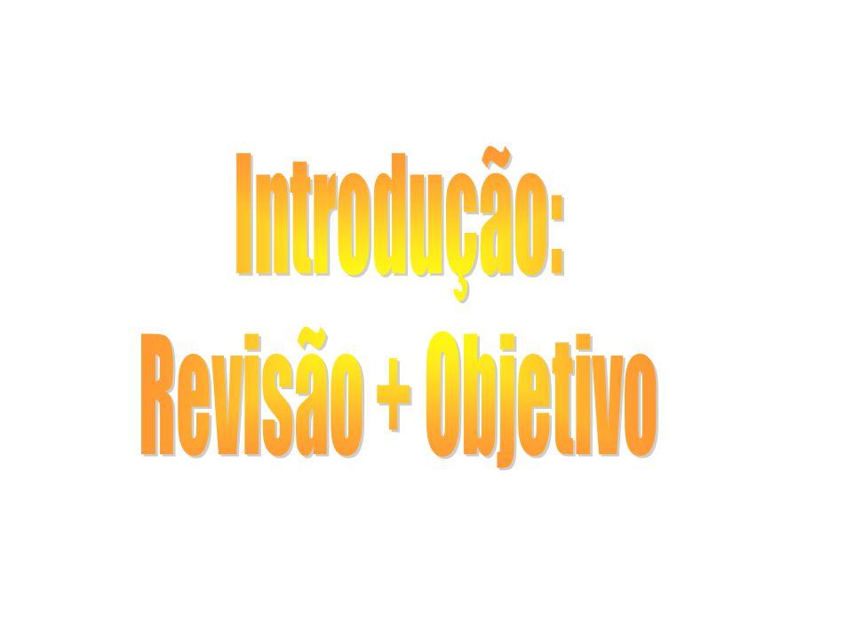 Introdução: Revisão + Objetivo