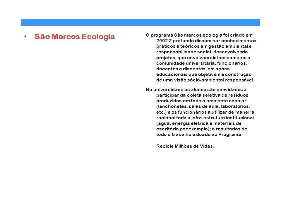 São Marcos Ecologia