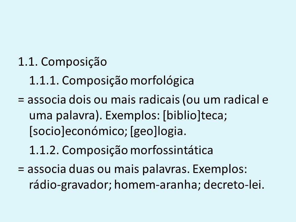 1.1. Composição 1.1.1.