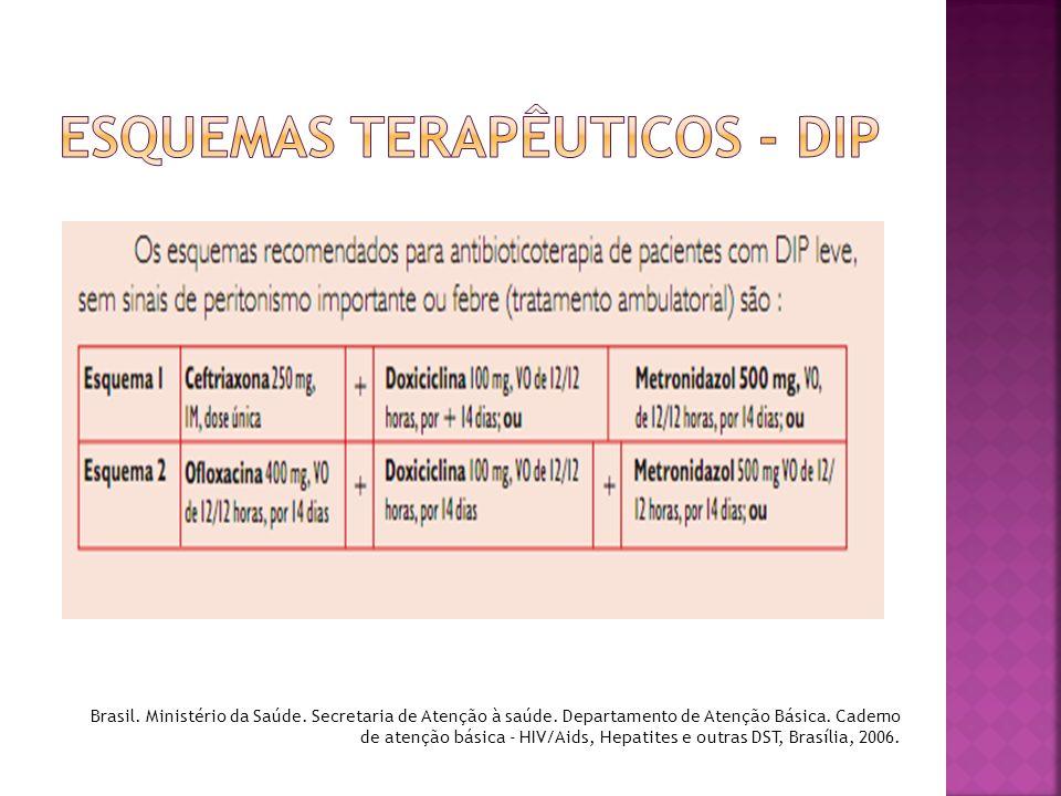 Esquemas terapêuticos - DIP