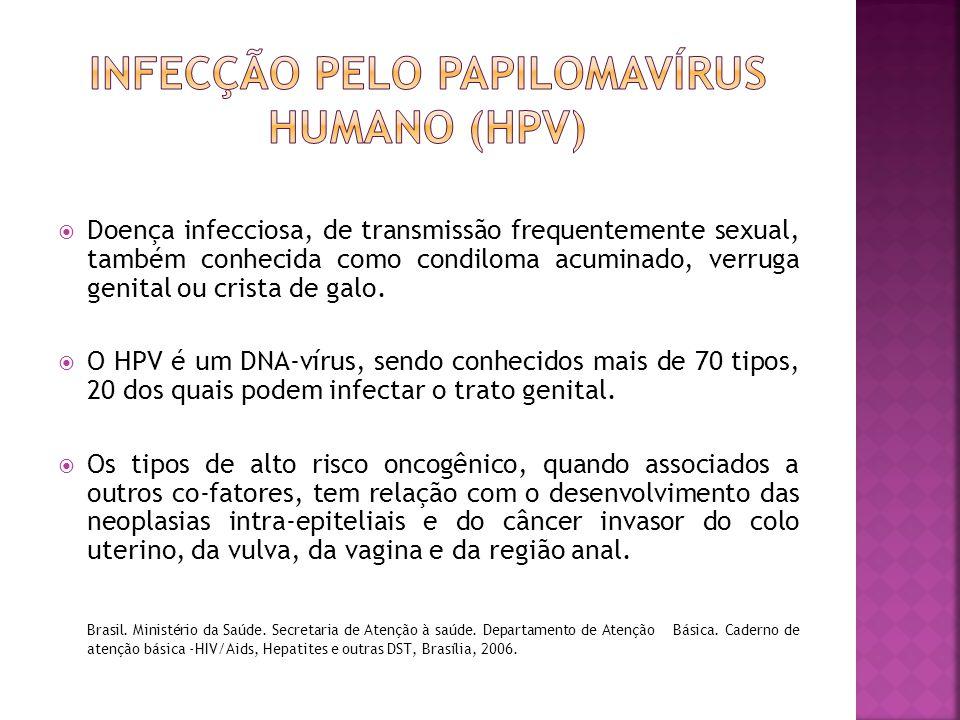 Infecção pelo papilomavírus humano (hpv)