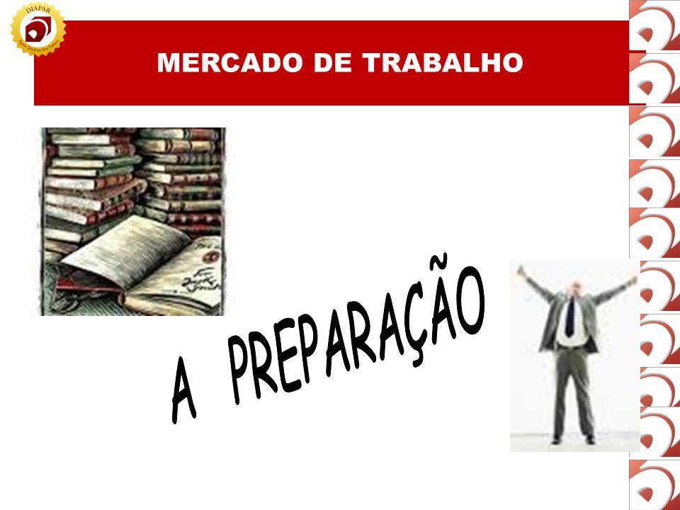 MERCADO DE TRABALHO A PREPARAÇÃO