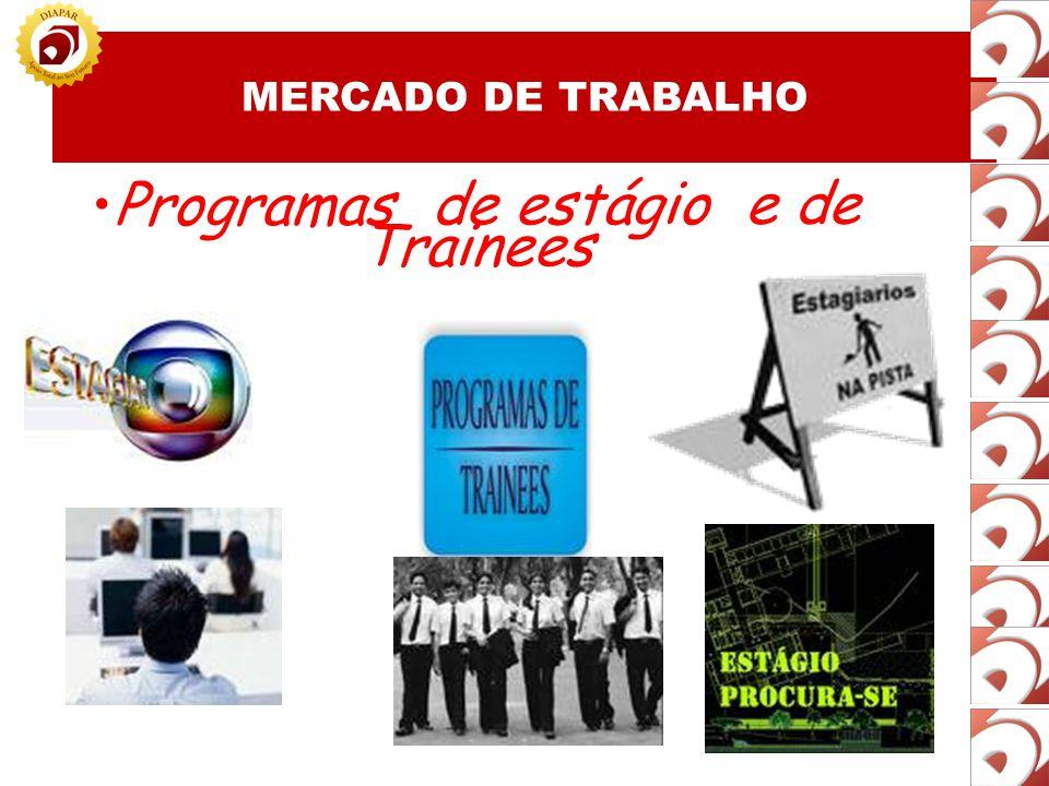 Programas de estágio e de Trainees