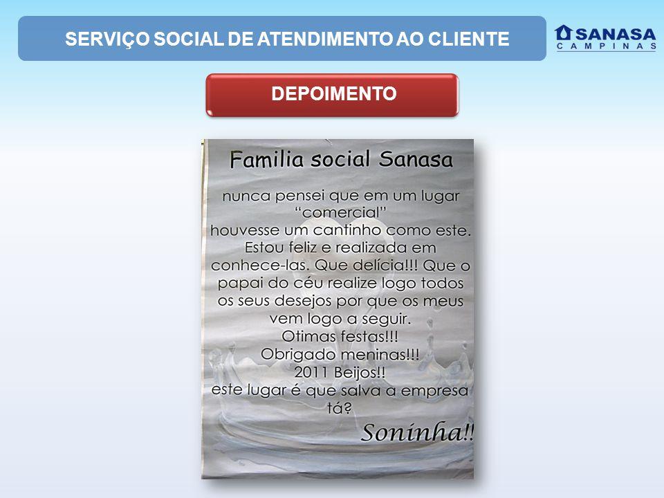 SERVIÇO SOCIAL DE ATENDIMENTO AO CLIENTE