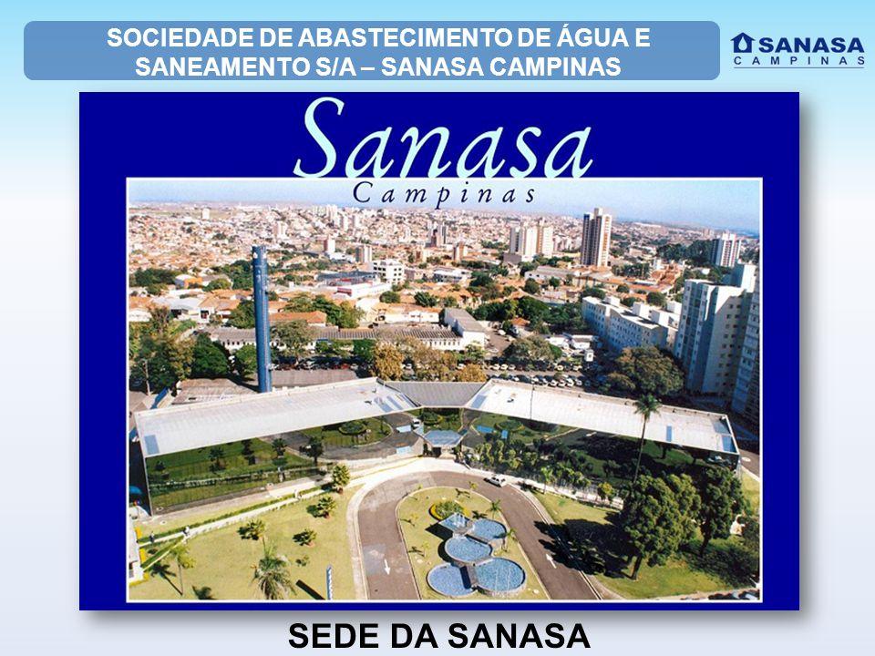 SOCIEDADE DE ABASTECIMENTO DE ÁGUA E SANEAMENTO S/A – SANASA CAMPINAS