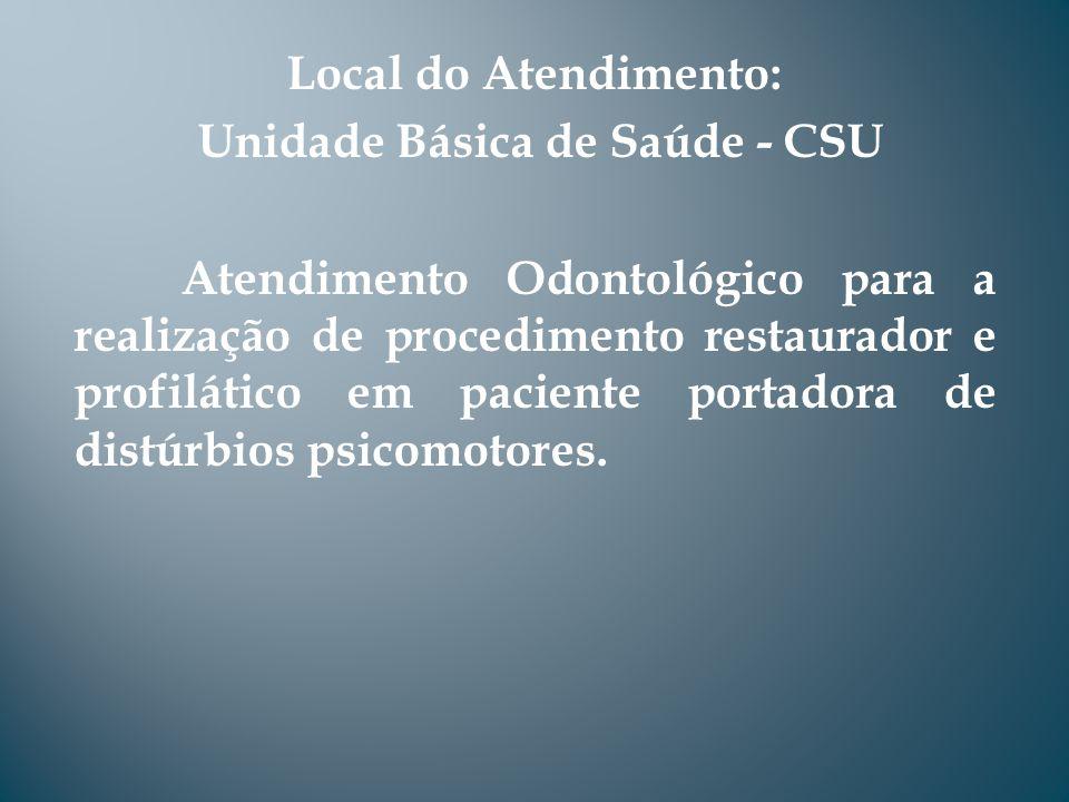 Unidade Básica de Saúde - CSU