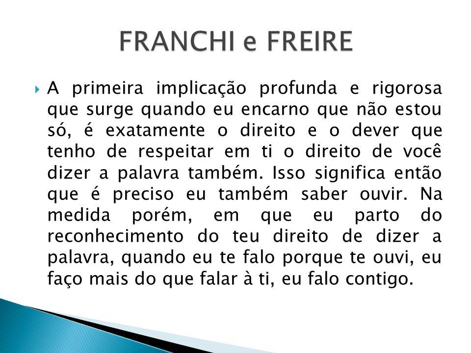 FRANCHI e FREIRE