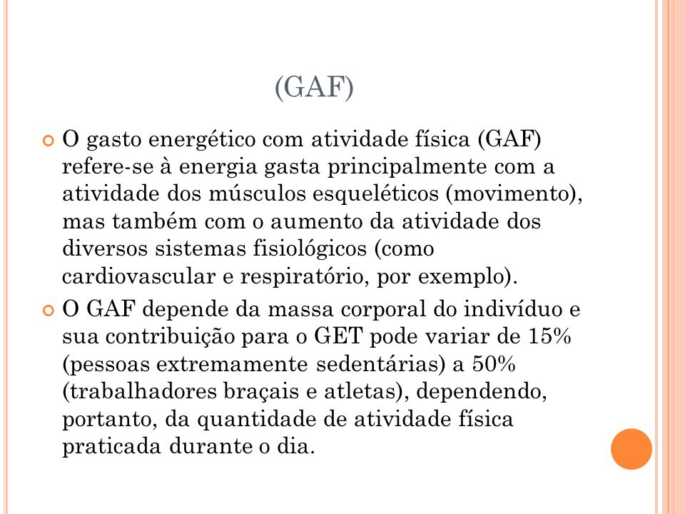 (GAF)