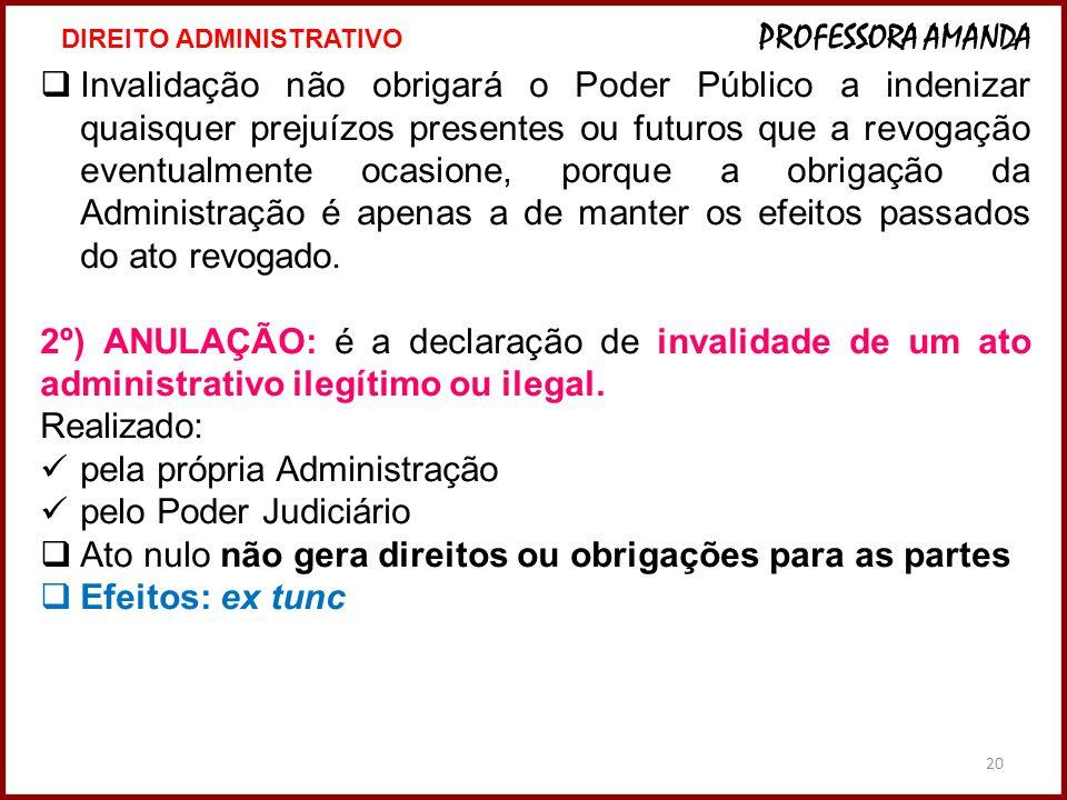 pela própria Administração pelo Poder Judiciário