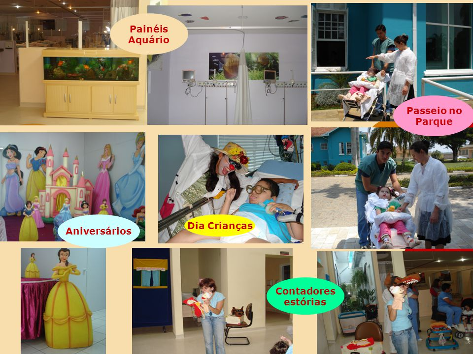 Painéis Aquário Passeio no Parque Aniversários Dia Crianças Contadores estórias