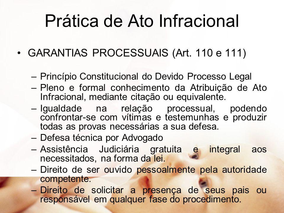 Prática de Ato Infracional