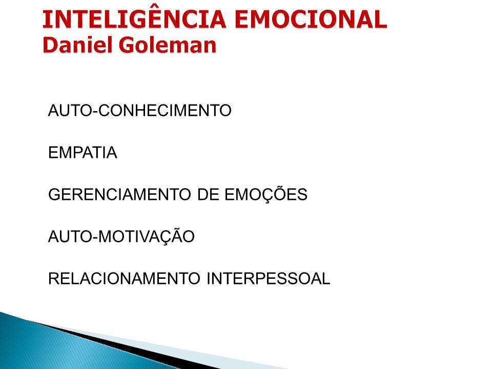 INTELIGÊNCIA EMOCIONAL Daniel Goleman