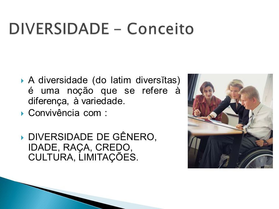 DIVERSIDADE - Conceito