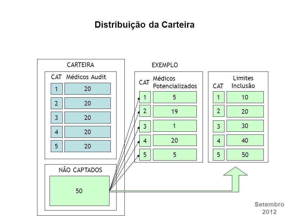 Distribuição da Carteira