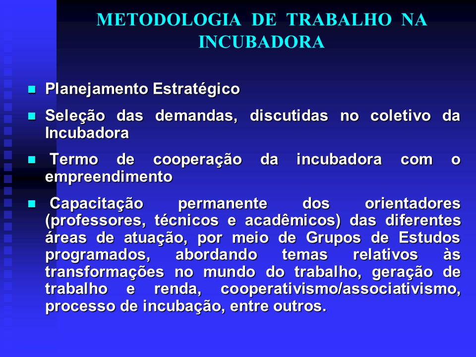 PARCERIAS Externas/Financiamentos: