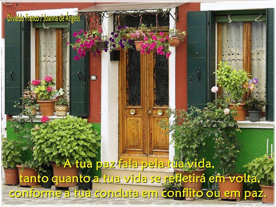 Divaldo Franco / Joanna de Ângelis A tua paz fala pela tua vida,