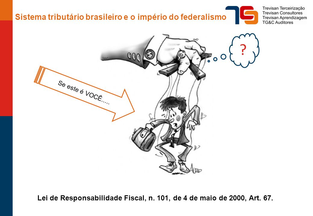 Lei de Responsabilidade Fiscal, n. 101, de 4 de maio de 2000, Art. 67.