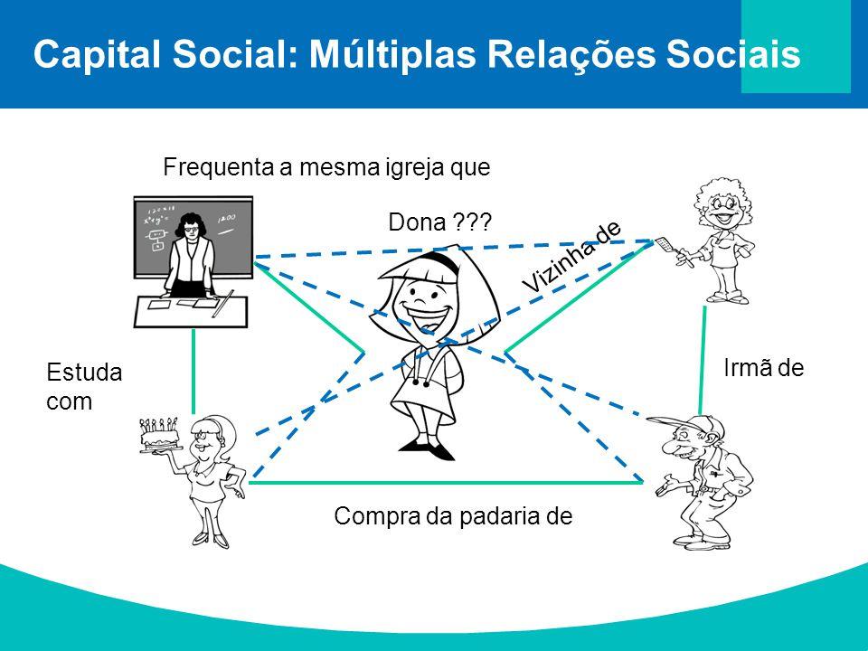 Capital Social: Múltiplas Relações Sociais