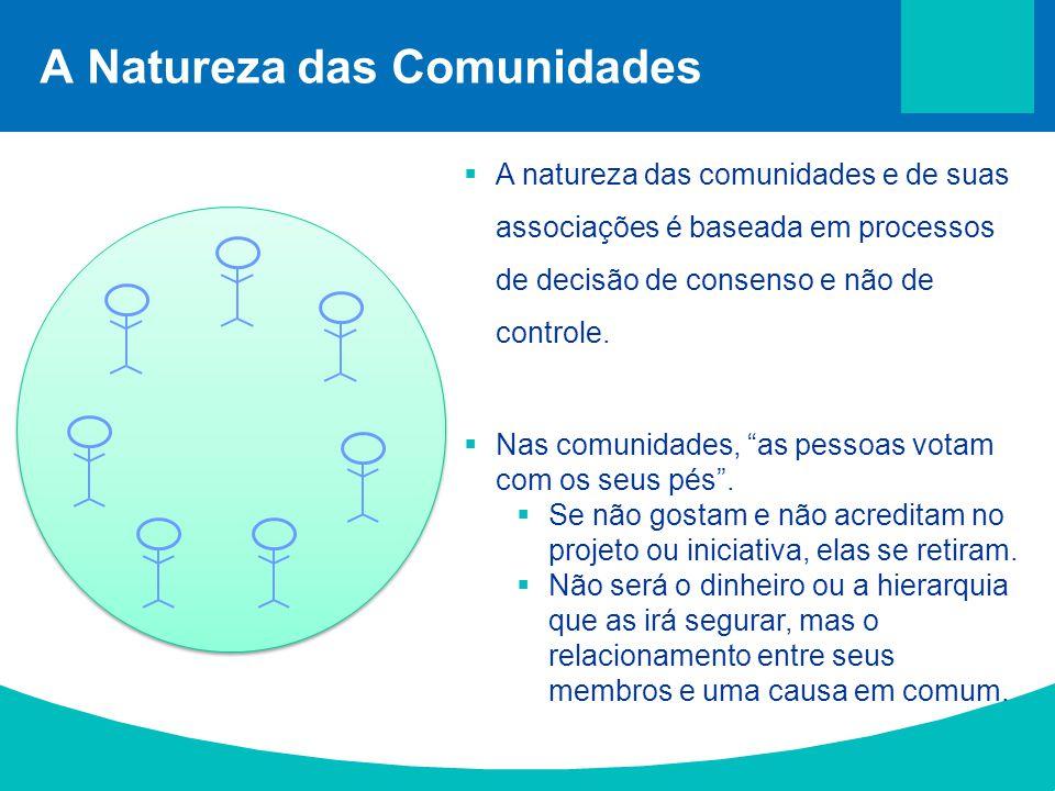 A Natureza das Comunidades