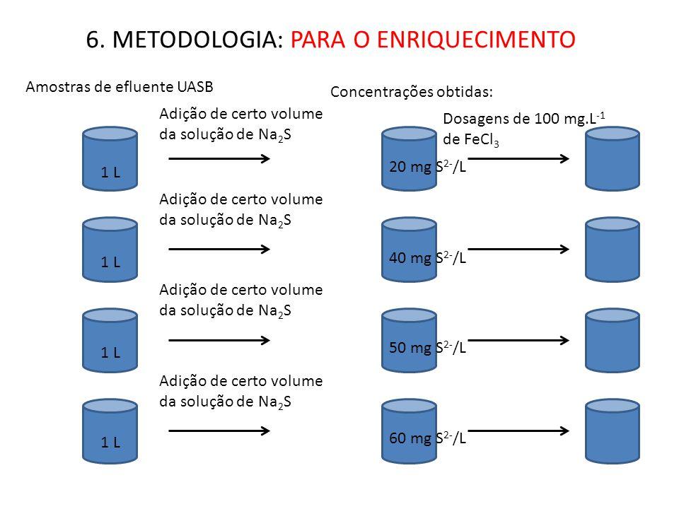 6. METODOLOGIA: PARA O ENRIQUECIMENTO