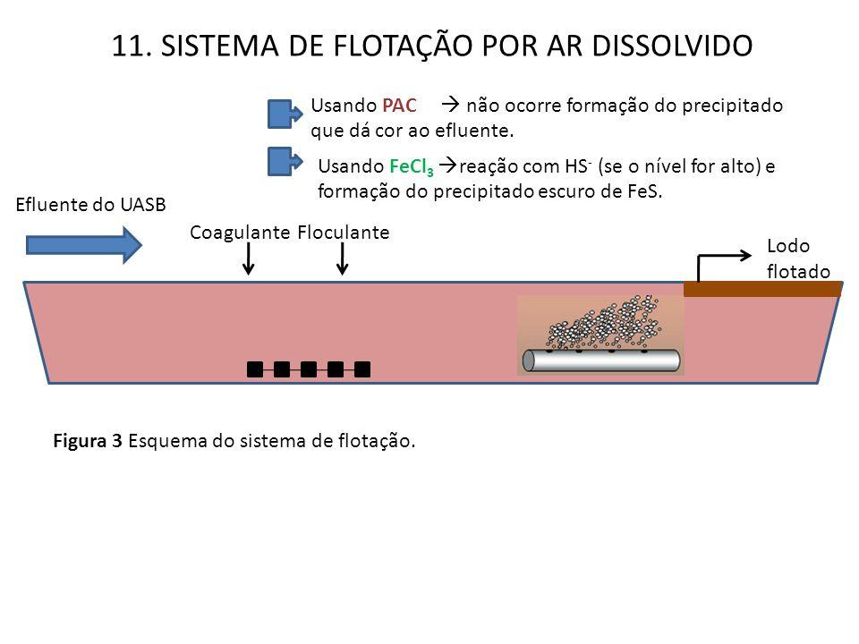 11. SISTEMA DE FLOTAÇÃO POR AR DISSOLVIDO