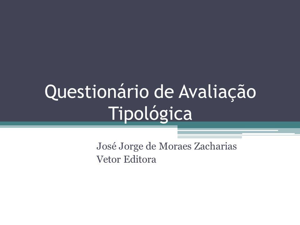 Questionário de Avaliação Tipológica