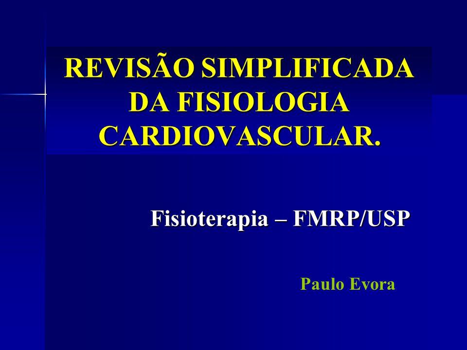 REVISÃO SIMPLIFICADA DA FISIOLOGIA CARDIOVASCULAR.