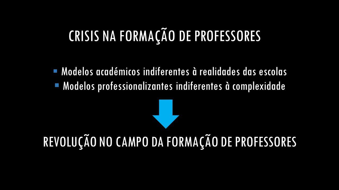 CRISIS NA FORMAÇÃO DE PROFESSORES