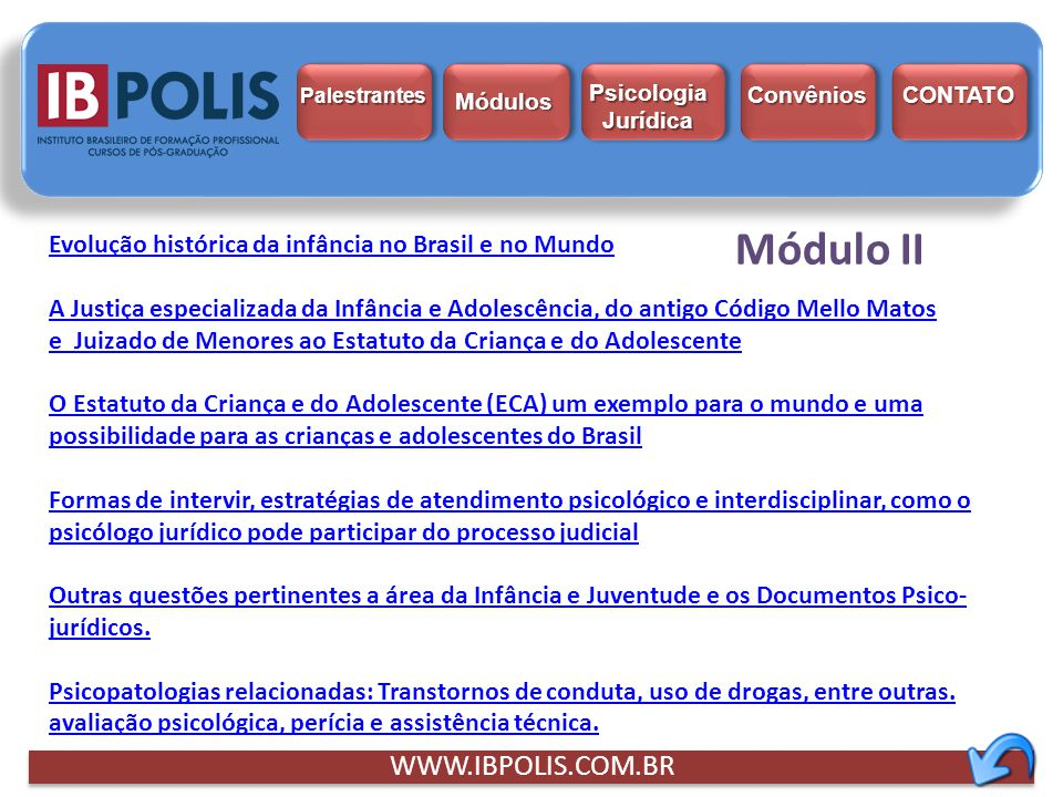 Módulo II WWW.IBPOLIS.COM.BR
