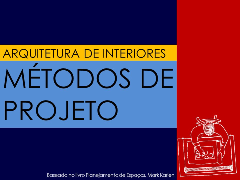 MÉTODOS DE PROJETO ARQUITETURA DE INTERIORES