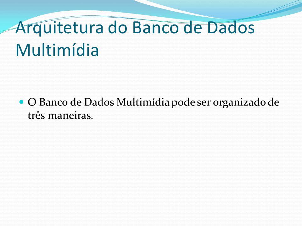 Arquitetura do Banco de Dados Multimídia