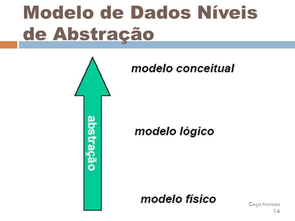 Modelo de Dados Níveis de Abstração