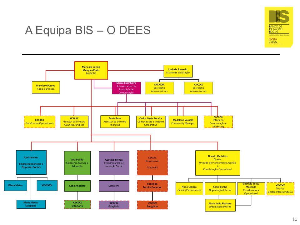 A Equipa BIS – O DEES