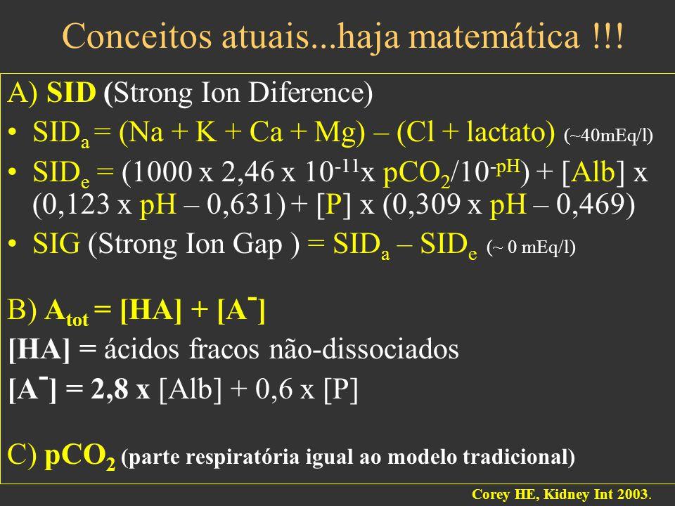 Conceitos atuais...haja matemática !!!