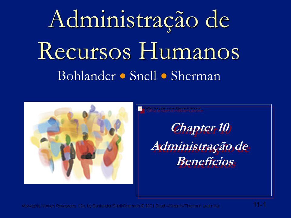 Administração de Recursos Humanos Bohlander  Snell  Sherman