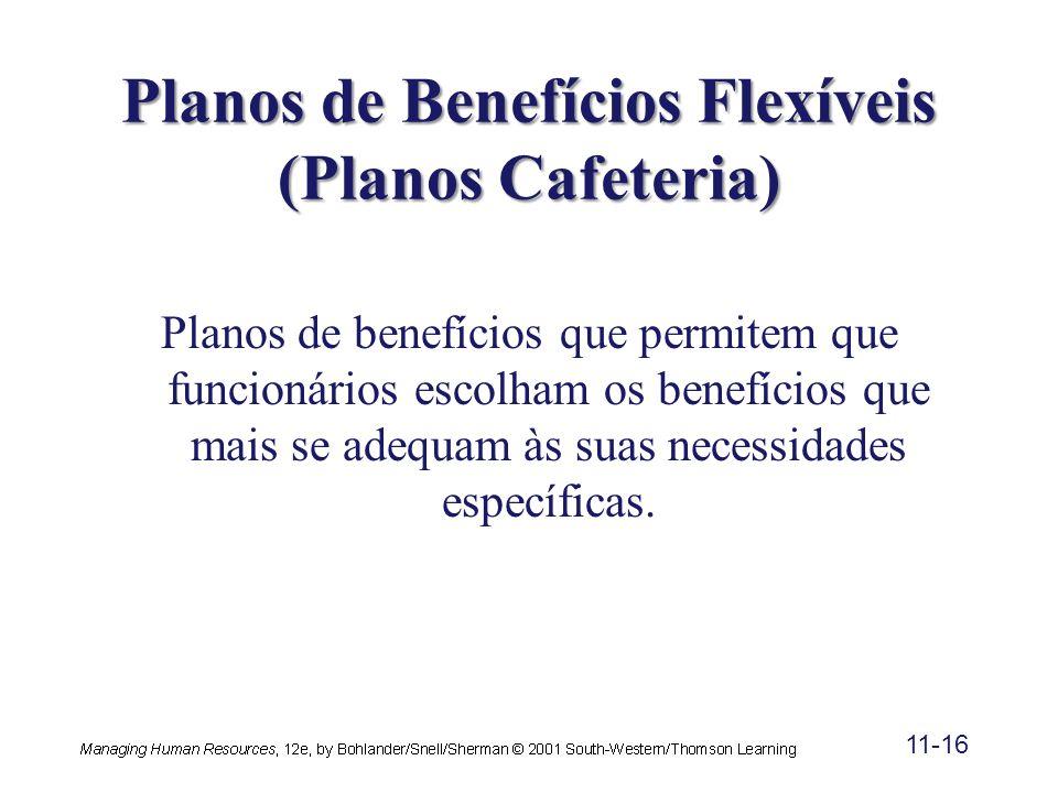 Planos de Benefícios Flexíveis (Planos Cafeteria)