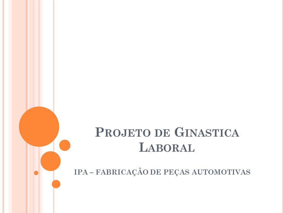 Projeto de Ginastica Laboral