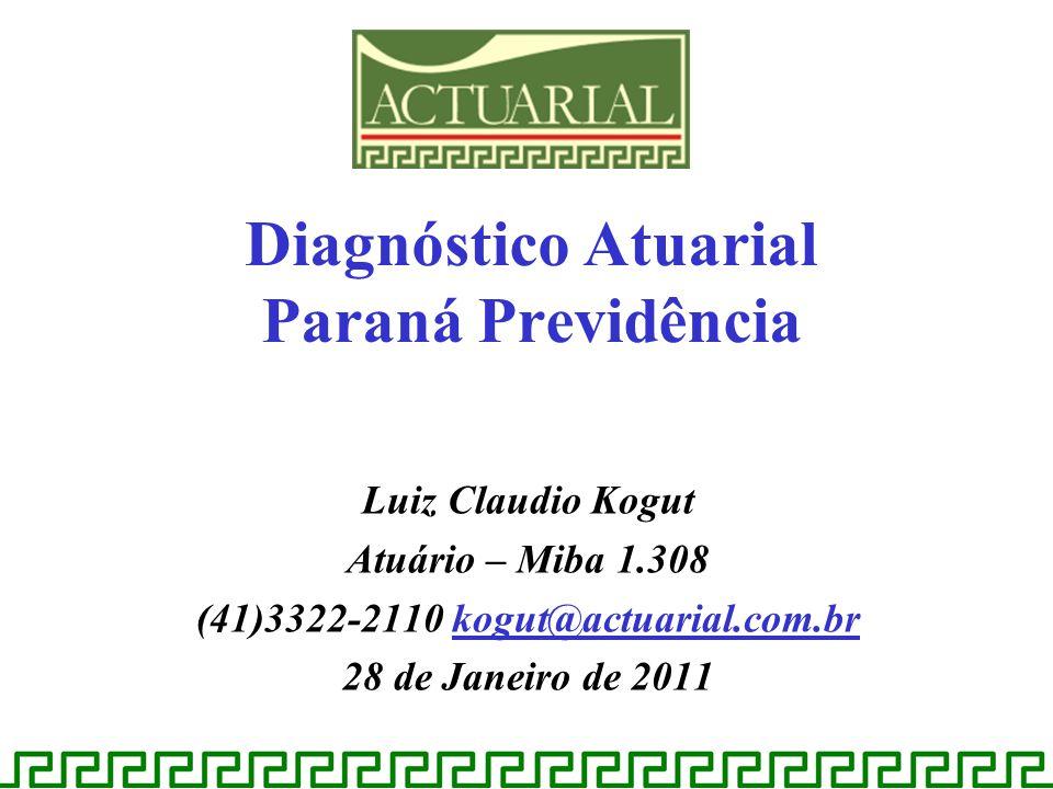 Diagnóstico Atuarial Paraná Previdência